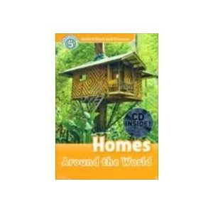 Oxford Read and Discover Level 5 Homes Around the World Audio CD Pack