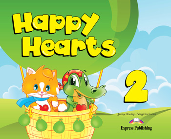 Happy Hearts 2 Pupil's Book (+ Stickers & Press Outs)