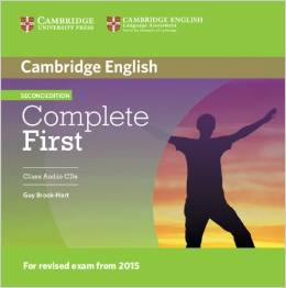 Complete First Second edition (for revised exam 2015) Class Audio CDs (2) (Лицензия)