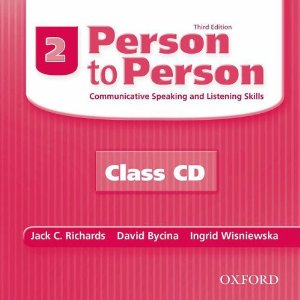 Person to Person Third Edition 2 Class Audio CDs (2)