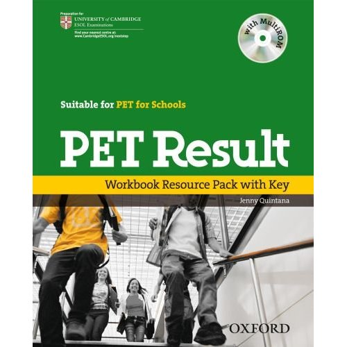 PET Result: Printed Workbook Resource Pack with key, with access to one PET and one PET for Schools Practice Test