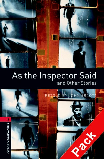 OBL 3: As the Inspector Said and Other Stories Audio CD Pack