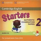 Cambridge English (for Revised Exam from 2018) Starters 2 Audio CD (Лицензия)
