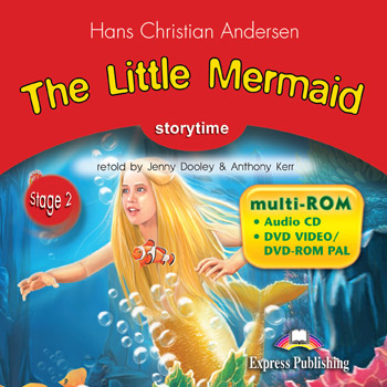 Stage 2 - The Little Mermaid multi-ROM (Audio CD / DVD Video & DVD-ROM PAL)