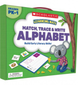 Learning Mats: Match, Trace & Write the Alphabet.