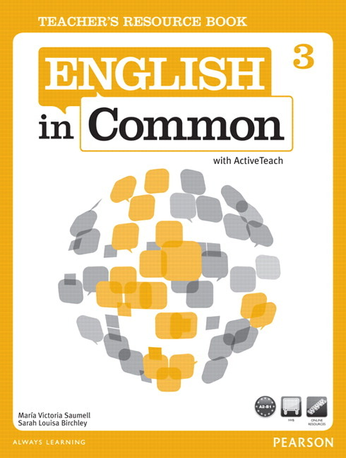 English in Common 3 Teacher's Resource Book with ActiveTeach