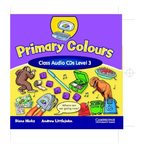 Primary Colours 3 Class Audio CDs (2) (Лицензия)