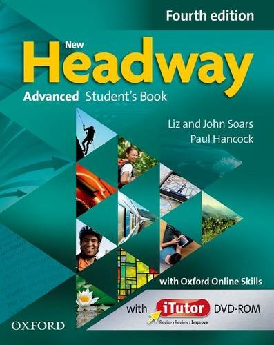New Headway Advanced Fourth Edition Students Book & Itutor & Online Practice Pack