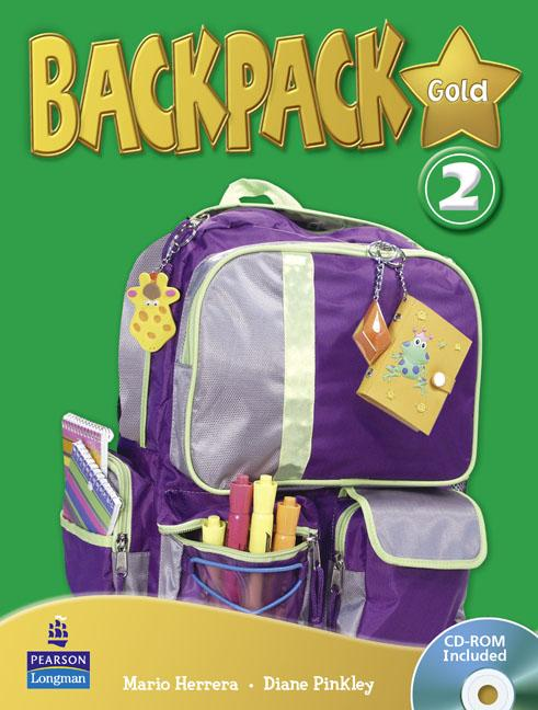 Backpack Gold Level 2 Students' Book (with CD-ROM)