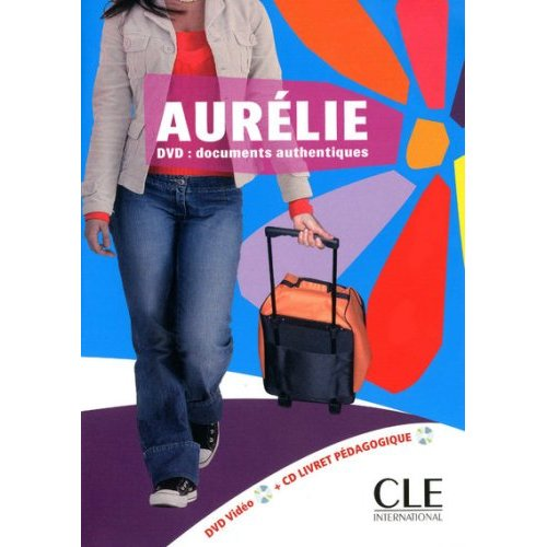 DVD video PAL Aurelie (niveaux A1/A2)