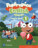 Poptropica English Islands 1 Pupil's Book and Online Game Access Card pack