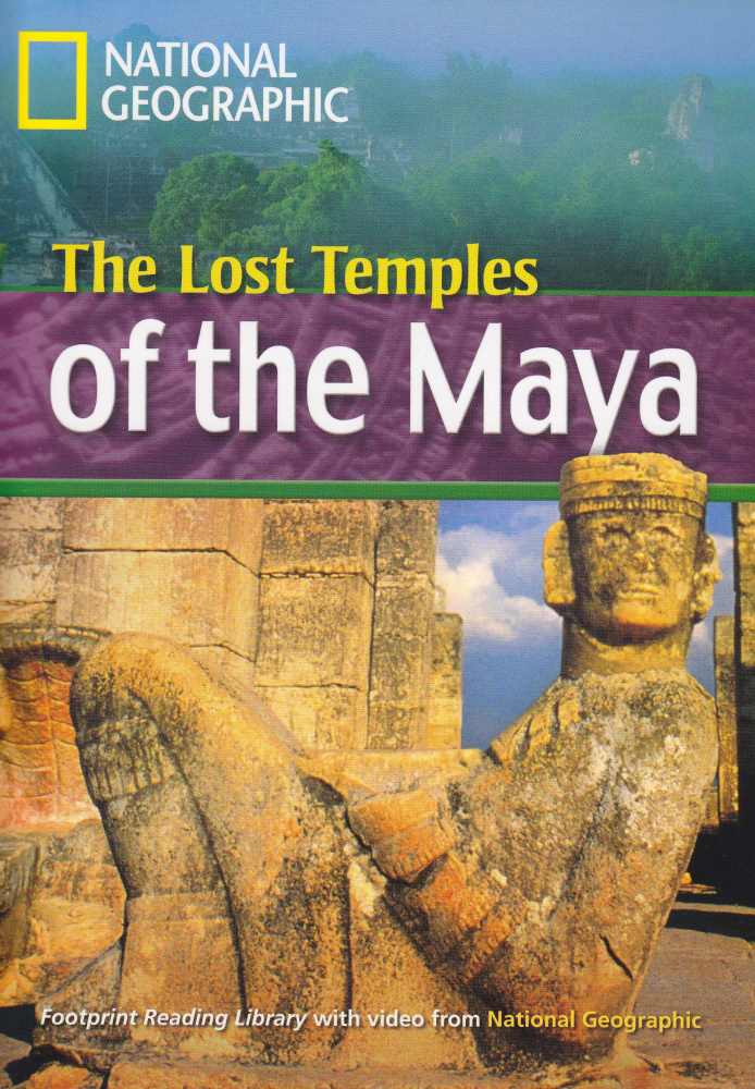 Fotoprint Reading Library B1 The Lost Temples of the Maya with CD-ROM