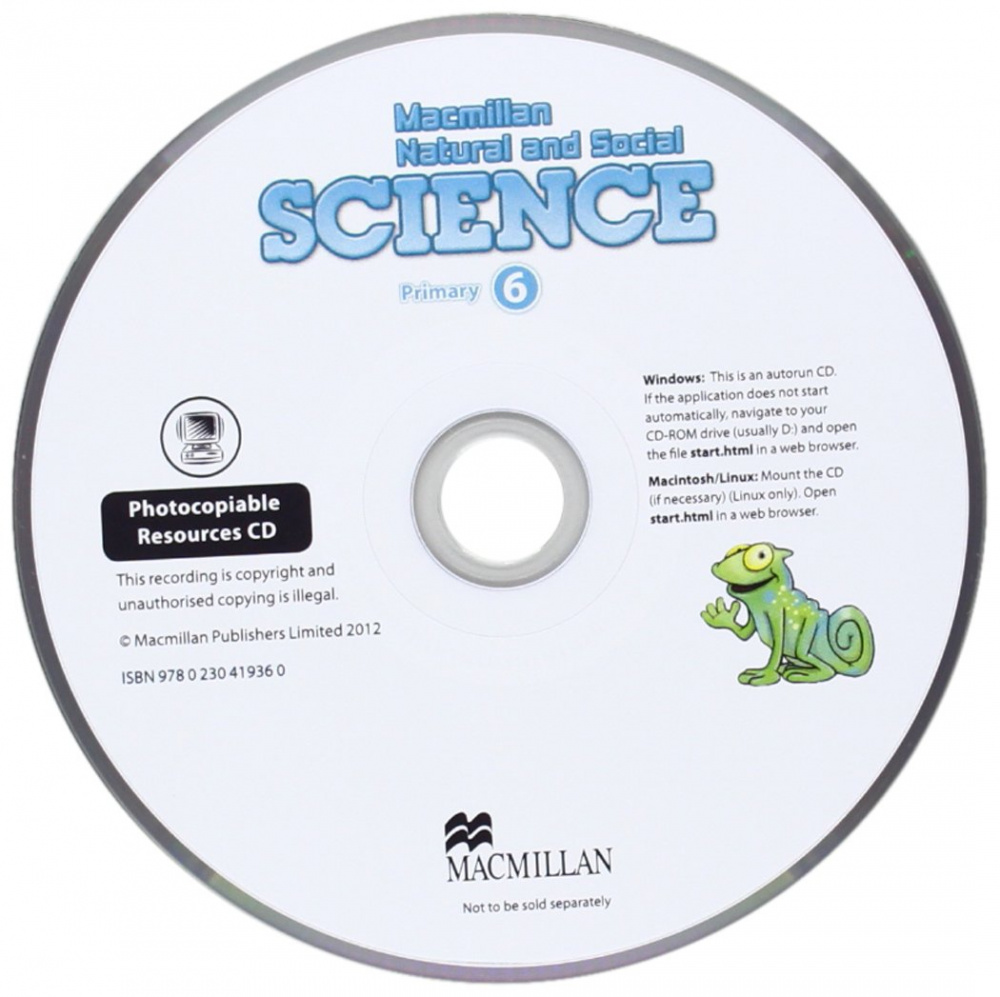 Macmillan Natural and Social Science 6 Teachers Photocopiable Resources CD