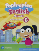 Poptropica English Islands 6 Pupil's Book with English World Access code