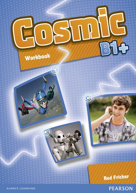 Cosmic B1+ Workbook (with Audio CD)