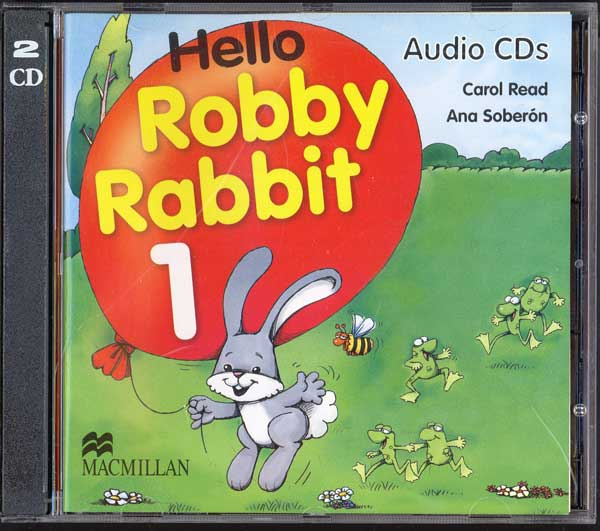 Hello Robby Rabbit 1  Class Audio CD's (2)