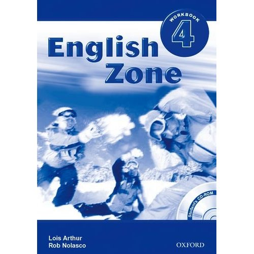English Zone 4 Workbook With CD-Rom Pack
