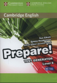 Cambridge English Prepare! Test Generator Level 6 CD-ROM