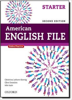American English File Second edition Starter Student Book with Online Skills