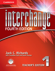 Interchange Fourth Edition 1 Teacher's Edition with Assessment Audio CD/CD-ROM