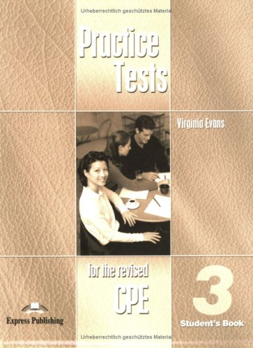 CPE Practice Tests 3 Student's Book