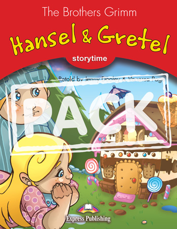 Stage 2 - Hansel & Gretel Pupil's Book with Audio CD