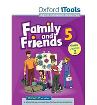 Family and Friends 5 iTools DVD-ROM