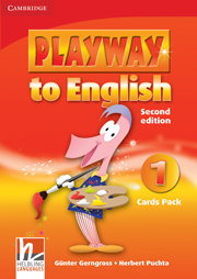 Playway to English (Second Edition) 1 Cards Pack