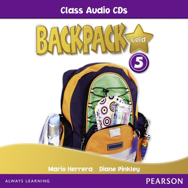 Backpack Gold Level 5 Class Audio CD
