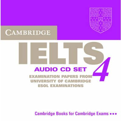 Cambridge IELTS 4 Audio CD Set (2 CDs) (Лицензия)