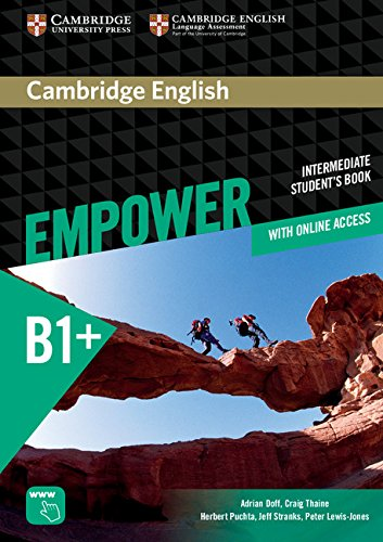 Cambridge English Empower Intermediate Student's Book with Online Assessment and Practice, and Online Workbook