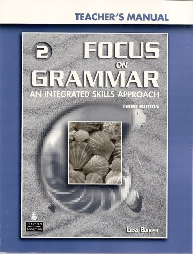 Focus on Grammar 3rd Edition Level 2 Teacher's Manual + CD-ROM