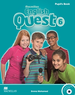 Macmillan English Quest Level 6 Pupil's Book Pack
