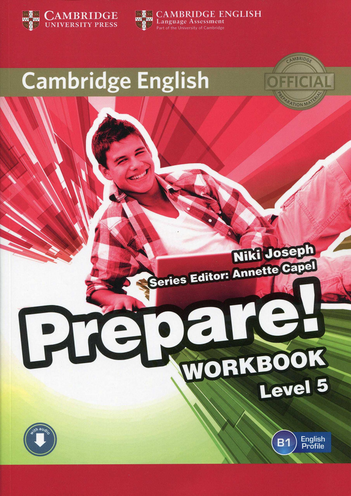 Cambridge English Prepare! Level 5 Workbook with Audio-online