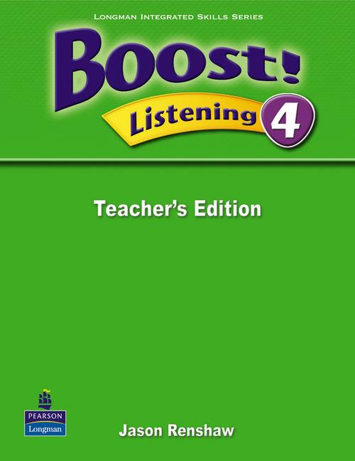 Boost Listening 4 Teacher's Edition