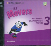 A1 Movers 3 Audio CDs