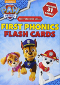 PAW Patrol: First Phonics Flash Cards