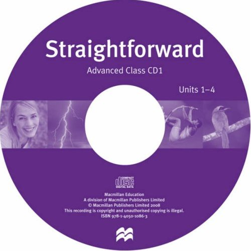 Straightforward Advanced Class Audio-CD (Лицензия)