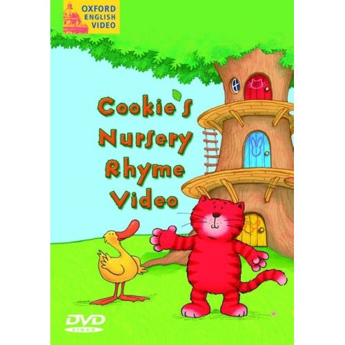 Cookie's Nursery Rhyme Video DVD