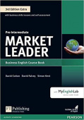 Market Leader 3rd Edition Extra Pre-Intermediate Coursebook and DVD-ROM Pack with MyEnglishLab