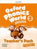 Oxford Phonics World 2 Teacher's Pack with Classroom Presentation Tool