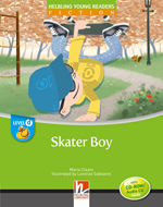 Helbling Young Readers Level D: Skater Boy (Big Book)
