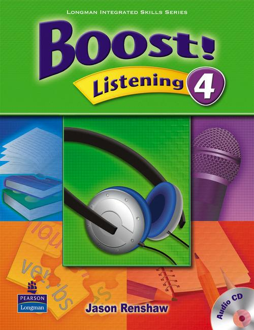 Boost Listening 4 Student's Book with Audio CD