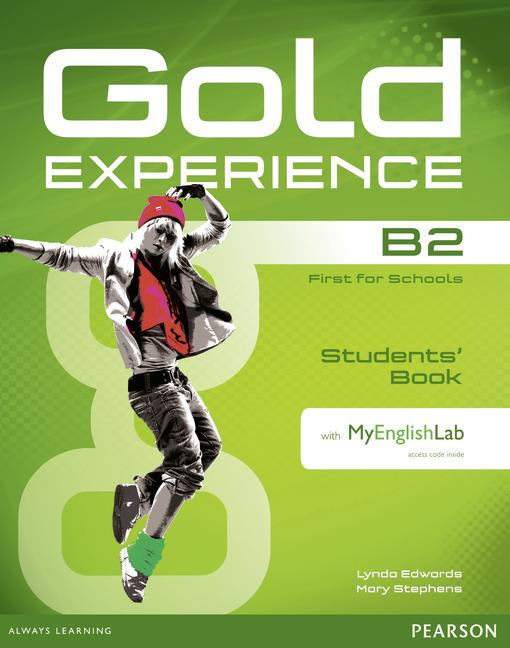 Gold Experience B2 Students' Book with DVD-ROM and MyEnglishLab
