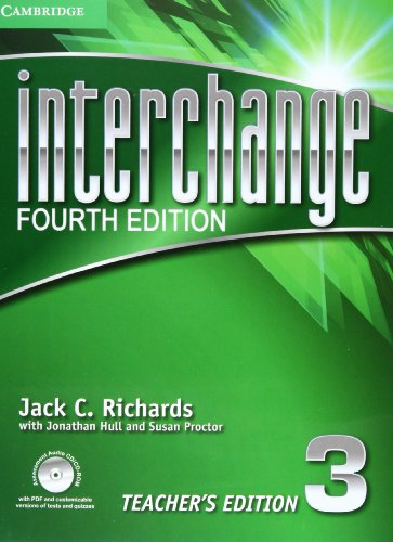 Interchange Fourth Edition 3 Teacher's Edition with Assessment Audio CD/CD-ROM