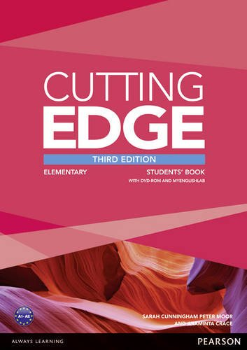 Cutting Edge 3rd Edition Elementary Students' Book and MyEnglishLab Pack