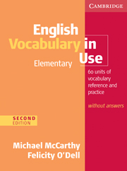 English Vocabulary in Use: Elementary (Second Edition) Book without answers