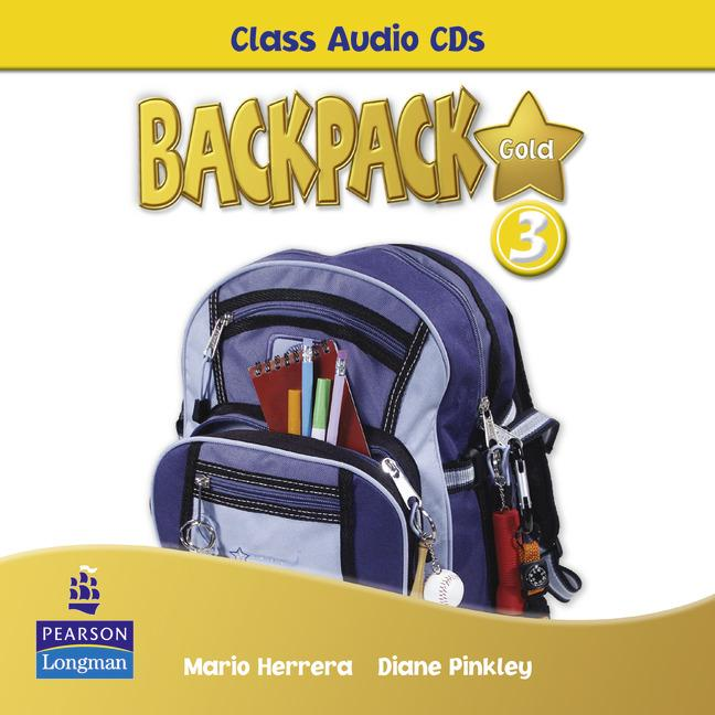 Backpack Gold Level 3 Class Audio CD