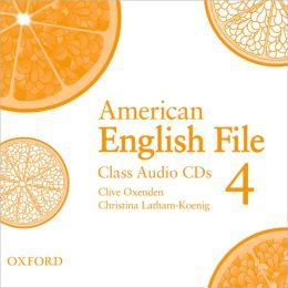 American English File 4 Class Audio CDs (4)