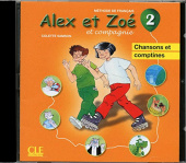 Alex et Zoe 2 Audio CD (individuel)